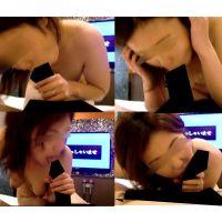 【個人撮影】素人若妻スゴ技フェラ「ホント大きい」 「いっちゃうの?」口内発射!