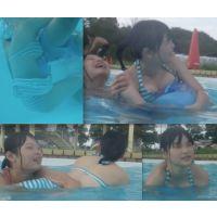 リアル ●C プールで水着撮っちゃいました☆ vol.9