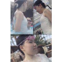 リアル ●C プールで水着撮っちゃいました☆ vol.4