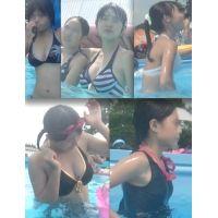 リアル ●C プールで水着撮っちゃいました☆ vol.8