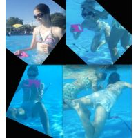 リアル ●C プールで水着撮っちゃいました☆ vol.15