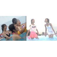 リアル ●C プールで水着撮っちゃいました☆ vol.6
