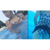 リアル ●C プールで水着撮っちゃいました☆ vol.2