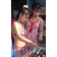 リアル ●C プールで水着撮っちゃいました☆ vol.1