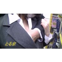 [HD] JK 追っかけ3 痴漢編 その5 完全オリジナル作品