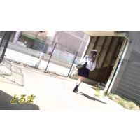 [HD] 清楚制服JK3-1 逆さ撮り 完全オリジナル作品
