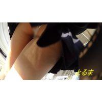[4K] 制服女子 階段逆さ撮り 完全オリジナル作品 [A]