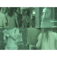 """★""""赤外線街撮り""""Vol.1★ 「素人・JK達の透け動画」"""