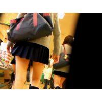 ♥肉眼で女子校生のパンチラを見れる♥究極のJK盗撮風動画 PREMIUM.1