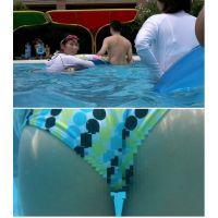 SP32ほしりの水中動画(水玉 突き出しクロッチ)