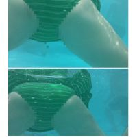 SP06ほしりの水中動画(緑 平泳ぎ)