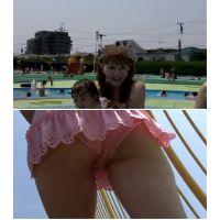 SP34ほしりの水中動画(ピンク若ママ 階段ローアン)