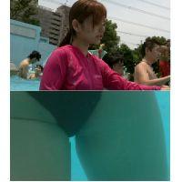 SP41ほしりの水中動画(後○真希似の若ママさん)