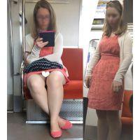 [無劣化FHD]電車からの風景〜欧州美女のずっと見えてる欧州パ○ツ�(フルHD)