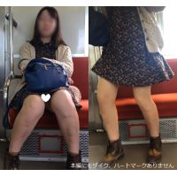 [無劣化FHD]電車からの風景〜ヒラミニワンピJD、奥まで見えてます(フルHD)