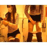 【HD】【かわや固定撮り】☆某ファッションビル☆共用トイレ_隠し撮り