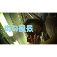HD盗撮風[オリジナル]電車で下からJDの顔を見てるだけ