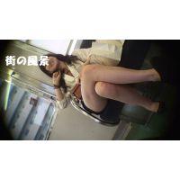 HD盗撮風[オリジナル]電車の私服ショートパンツJK?-6