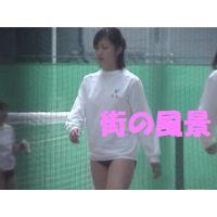 盗撮風≪個人撮影≫ブルマJK体育授業風景?