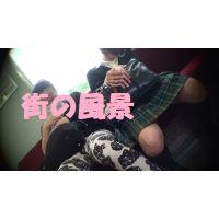 HD盗撮風[オリジナル]JK電車で居眠り股開き