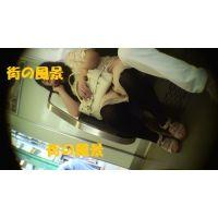 HD盗撮風[オリジナル]電車で居眠りJD?