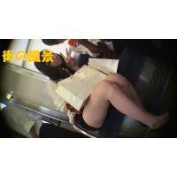 HD盗撮風[オリジナル]電車の私服ショートパンツJK?-3