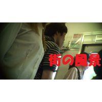 HD盗撮風[オリジナル]電車で立っている胸のきれいなお姉さん