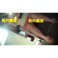 HD盗撮風[オリジナル]電車の生足居眠りJD