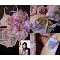 【営業OL】ピンクの下着2種でオナニー