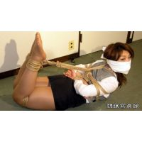 Big Boob Reiko Nakamori in Bondage - Girl Clerk.Captured - Part
