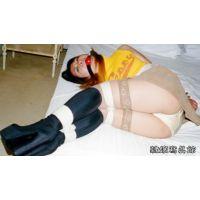 女子大生 亜里沙 緊縛 ミニスカ ブーツ ボールギャグ