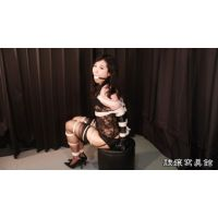 Saki Arimura - Bound and Gagged in Black Lingerie - Chapter 1
