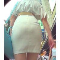 ムチムチヒップ072-2_タイトワンピお姉さん?