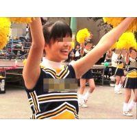 紺ブルマ美少女チアガール集団(幻の大胆演技編) 2/5