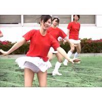 3週連続発売!【FULL-HD】幻の白アンスコ!美少女チアガール演技 168-1-2