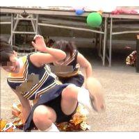 紺ブルマ美少女チアガール集団(幻の大胆演技編) 4/5