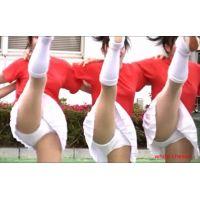 3週連続発売!【FULL-HD】幻の白アンスコ!美少女チアガール演技 168-1-3