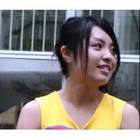 撮影に敏感なアイドルの黄色アンスコ!美少女チアガール文化祭演技(1/3)