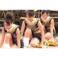 紺ブルマ美少女チアガール集団(幻の大胆演技編) 3/5
