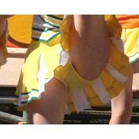 黄色アンスコ!美少女チアガール演技 96-5(完結編)