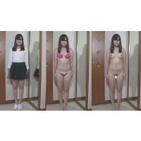 ■素人娘 全裸鑑賞 ★ゆりあ 【個人撮影】 ★FULL HD 1920x1080