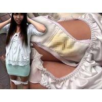 【個撮】下着売り娘の使用済みエロエロパンティーと今履いてる黄ばみきった未洗濯汚パンツ