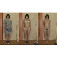 ■素人娘 全裸鑑賞 ★まいこ 【個人撮影】 ★FULL HD 1920x1080