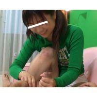 【10代現役少女の手コキ動画】恥ずかしい包茎チ●コをシコシコぬきぬきされました。