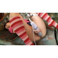 ★10代【巨乳美少女】ローター・電マ おしっこちびりイキまくりオナニー