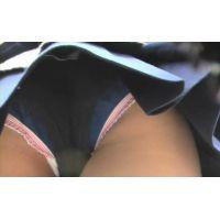 ハミパンしまくってますw制服激ミニ女子校生【高画質パンチラ動画】516と501〜505 重ね履き編セット販売