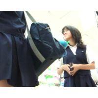 ロリ女の子が友達とお買い物【高画質パンチラ動画】138と111〜119セット販売