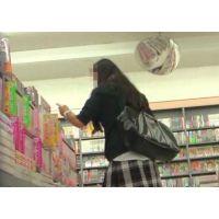 追跡!女の子の白いパンチュ【高画質パンチラ動画】104 書店編