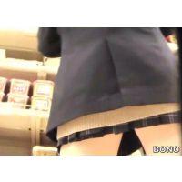 しゃがみシーンあり!お買い物する激ミニ女子校生【高画質パンチラ動画】510と111〜119セット販売
