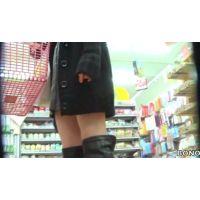生足ロングブーツエロファッション20代前半の女の子【高画質パンチラ動画】802と111〜113 116〜118セット販売